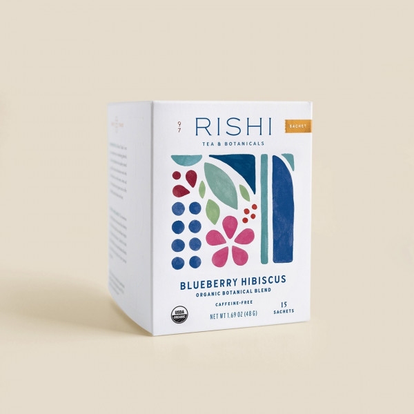 Infusion Blueberry Hibiscus 15 Sachets Individuels